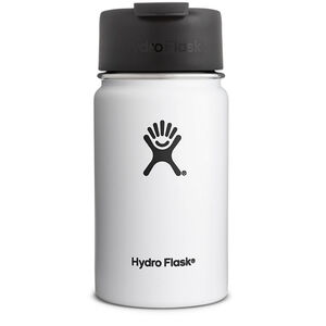Hydro Flask Wide Mouth Coffee Bottle 354ml white white