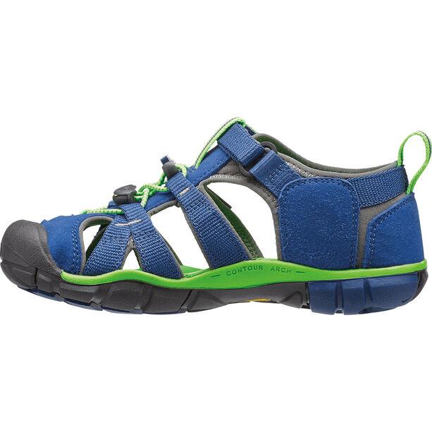 Keen Seacamp II CNX Sandals Barn true blue/jasmine green