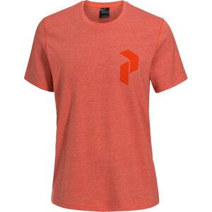 Peak Performance Track Tee Herr orange flow orange flow
