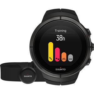 Suunto Spartan Ultra Titanium Watch Chest HR all black all black