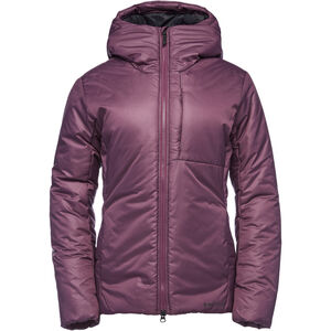 Black Diamond Belay Parka Dam Plum Plum
