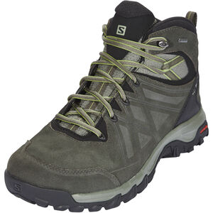 Salomon Evasion 2 Mid LTR GTX Shoes Herr castor gray/beluga/guacamole castor gray/beluga/guacamole