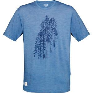 Norrøna Svalbard Wool T-Shirt Herr denimite denimite