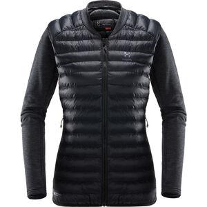 Haglöfs Mimic Hybrid Jacket Dam True Black/Magnetite True Black/Magnetite
