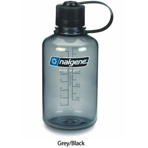 Nalgene Narrow Mouth Bottles 0,5l grey/black grey/black