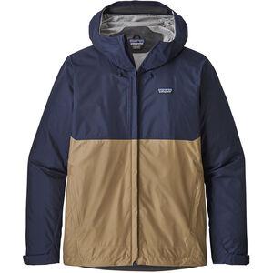 Patagonia Torrentshell Jacket Herr classic navy with mojave khaki classic navy with mojave khaki