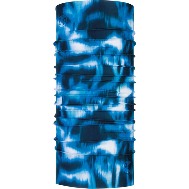 Buff Coolnet UV+ Neckwarmer yule seaport blue