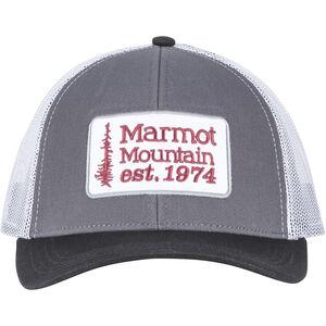 Marmot Retro Trucker Hat Herr dark steel/black dark steel/black