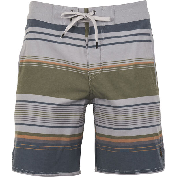 United By Blue Seabed Scallop Boardshorts Herr grey