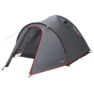 High Peak Nevada 5 Tent dark grey/red dark grey/red