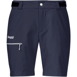 Bergans Slingsby LT Softshell Shorts Dam dark navy/white dark navy/white