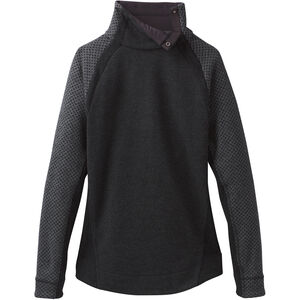 Prana Brandie Sweater Dam charcoal heather charcoal heather