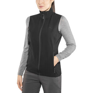 Bergans Ramberg Softshell Vest Dam black/solid charcoal black/solid charcoal