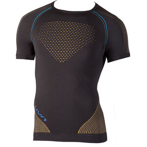 UYN Multisport Evolutyion UW SS Shirt Herr charcoal/gold/atlantic charcoal/gold/atlantic