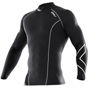 2XU Thermal Compression L/S Top Herr black/black black/black
