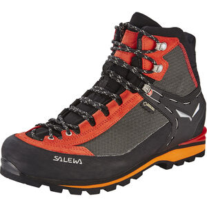 SALEWA Crow GTX Shoes Herr black/papavero black/papavero