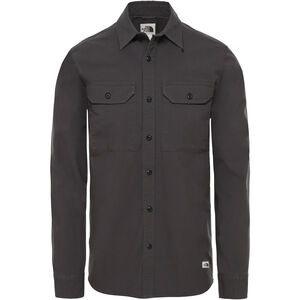 The North Face Battlement Utility LS Shirt Herr asphalt grey asphalt grey