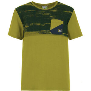 E9 T-Stripe T-Shirt Herr Olive Olive