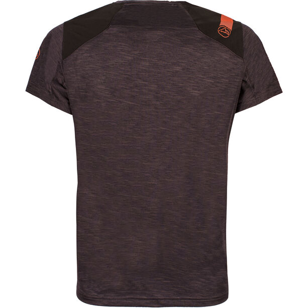 La Sportiva TX Top T-shirt Herr black/tangerine