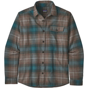 Patagonia Lightweight Fjord LS Shirt Herr canopy/bristle brown canopy/bristle brown