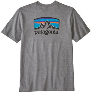 Patagonia Fitz Roy Horizons Responsibili Tee Herr Gravel Heather Gravel Heather