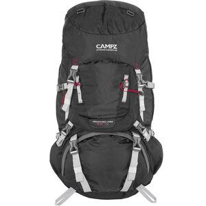 CAMPZ Mountain Pro 55+10l Backpack black black