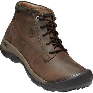 Keen Austin Casual WP Boots Herr choco brown/bla choco brown/bla