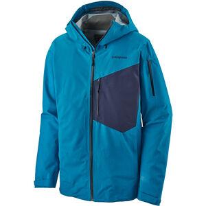 Patagonia SnowDrifter Jacket Herr balkan blue balkan blue