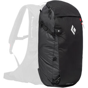 Black Diamond Jetforce Pro Booster Split Pack 35l Black Black