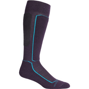 Icebreaker Ski+ Light OTC Socks Dam Lotus Lotus