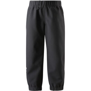 Reima Oikotie Softshell Pants Barn Black Black