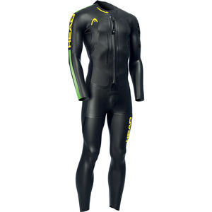 Head SwimRun Race Suit Herr black black
