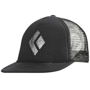 Black Diamond Flat Bill Trucker Hat black/white black/white