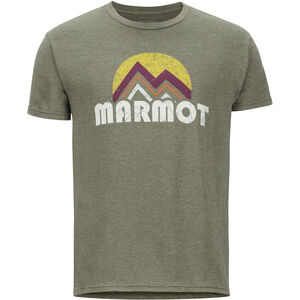 Marmot Point Reyes SS Tee Herr Olive Heather Olive Heather