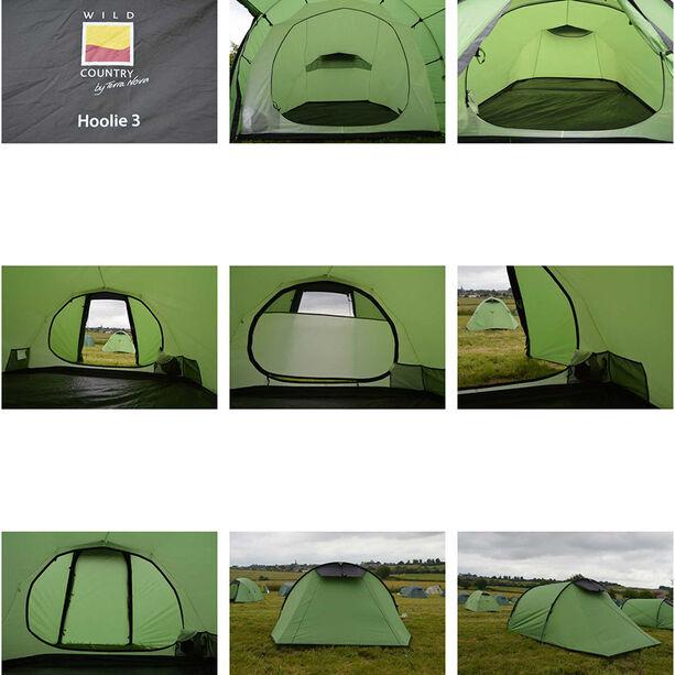 Terra Nova Wild Country Hoolie 3 Tent green