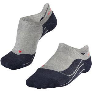 Falke RU4 Invisible Running Socks Dam light grey light grey