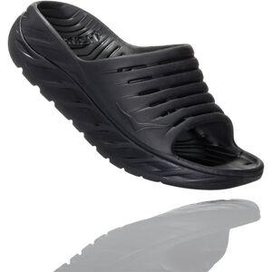 Hoka One One Ora Recovery Slide 2 Sandals Dam black/black black/black