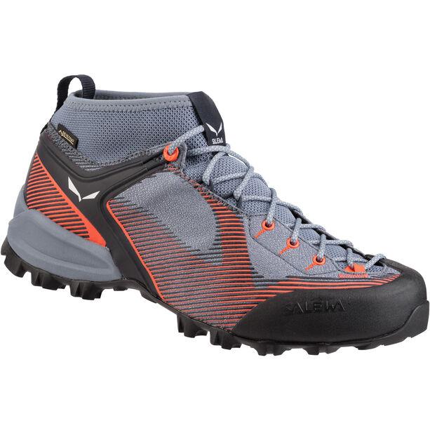 SALEWA Alpenviolet GTX Shoes Dam blue fog/fluo coral