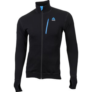 Aclima DoubleWool Jacket Herr Jet Black/Tornado/Brilliant Blue Jet Black/Tornado/Brilliant Blue