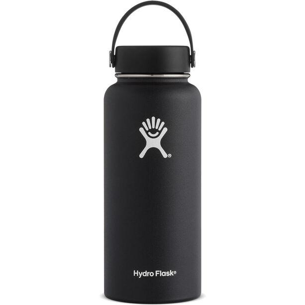 Hydro Flask Wide Mouth Flex Bottle 946ml black