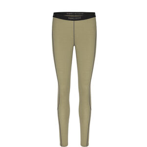 super.natural Base 175 Tights Women Bamboo/Killer Khaki Bamboo/Killer Khaki