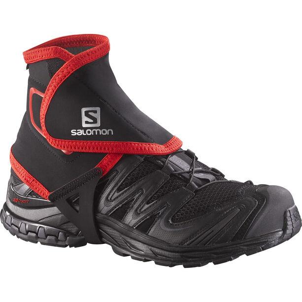 Salomon Trail High Gaiters black
