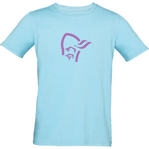 Norrøna /29 Cotton Viking T-Shirt Barn trick blue/royal lush trick blue/royal lush
