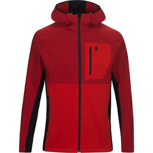Peak Performance Helo Mid Hood Jacket Herr Dark Chilli Dark Chilli