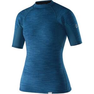 NRS HydroSkin 0.5 Short Sleeve Shirt Dam moroccan blue moroccan blue