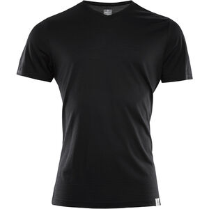 Aclima LightWool T-shirt Herr jet black jet black
