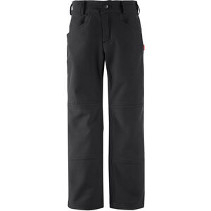 Reima Mighty Softshell Pants Barn Black Black