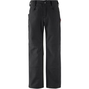 Reima Mighty Softshell Pants Barn Black Black