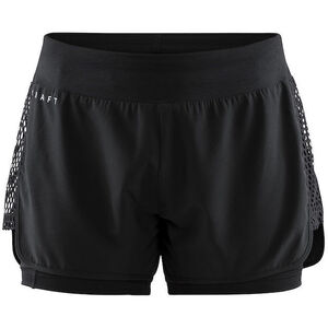 Craft Charge 2-In-1 Shorts Dam black black