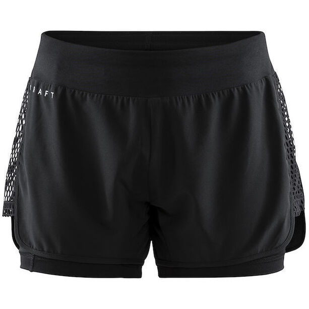 Craft Charge 2-In-1 Shorts Dam black